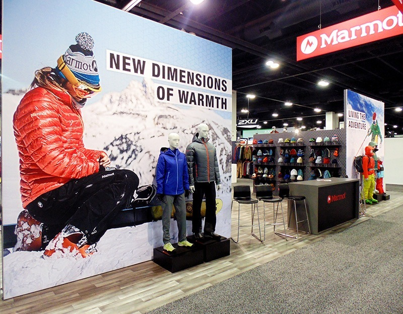 Trade Show Booth Ideas Marmot 5
