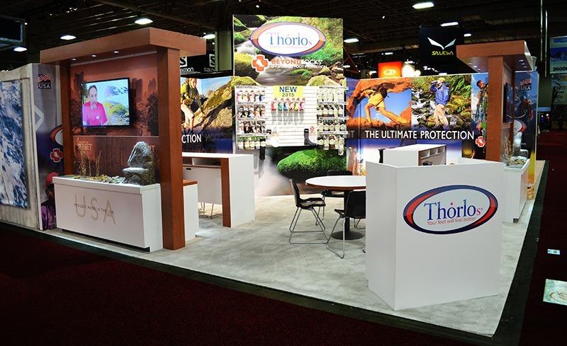 Thorlos Trade Show Booth Ideas