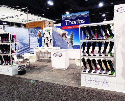Thorlos Trade Show Booth Ideas 1