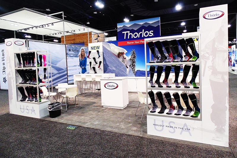 Thorlos Trade Show Booth Ideas 1