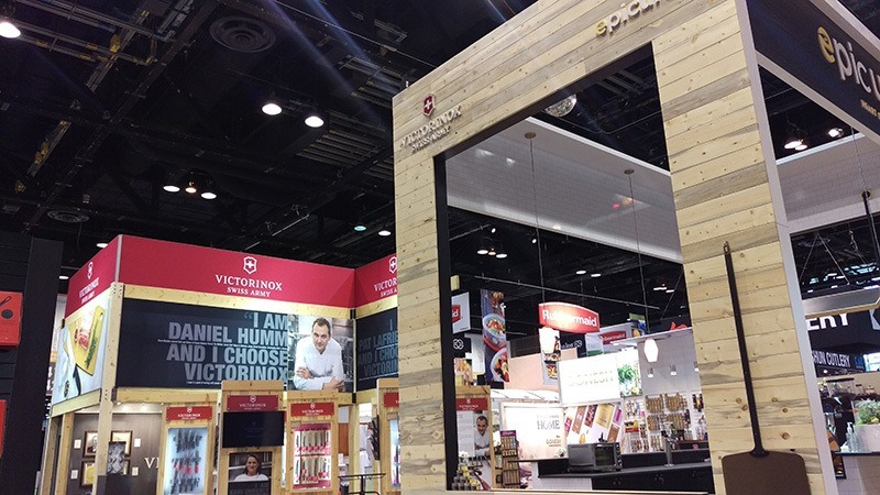 Trade Show Exhibit Inspiration Victorinox Mackenzie Exhibit