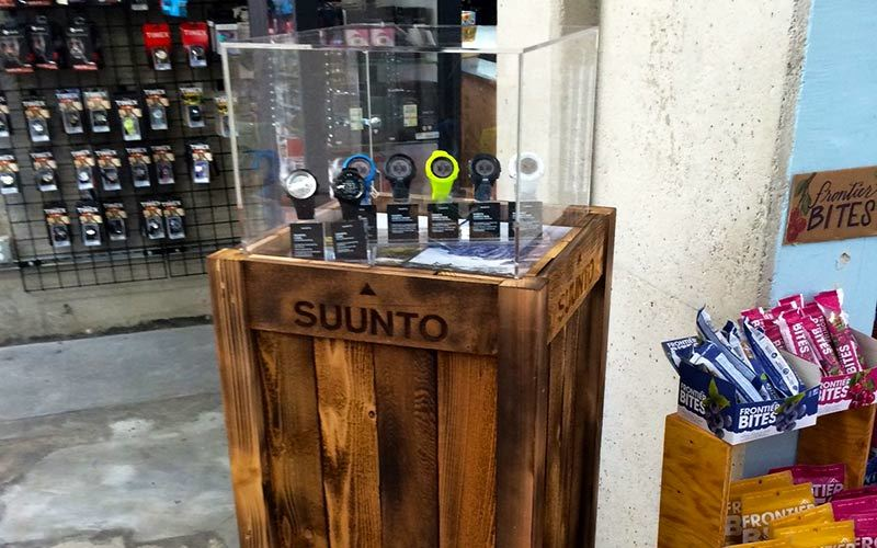 Custom Trade Show Display Suunto