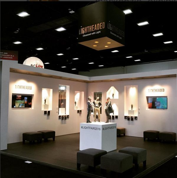 Trade Show Booth Design Scott Sports 3 & 2016 LIGHTFAIR International Best Booth Award | mackenzie EXHIBIT