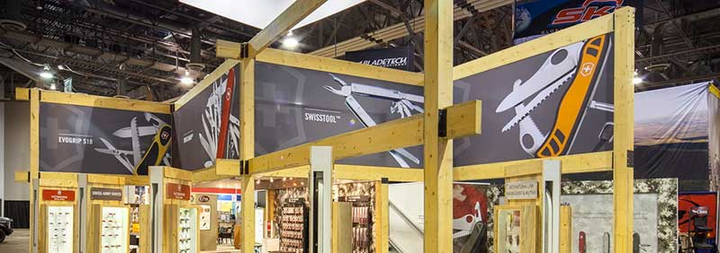 Trade Show Booth Victorinox