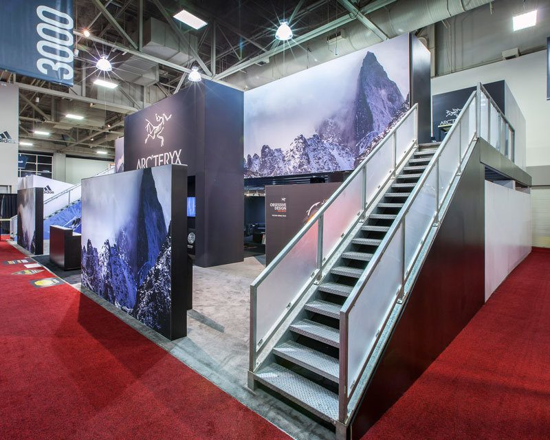 Arcteryx Trade Show Exhibit Ideas 4