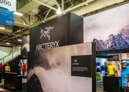 Arcteryx Trade Show Exhibit Ideas 1