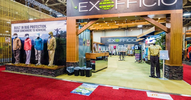 Trade Show Booth Ideas ExOfficio 2