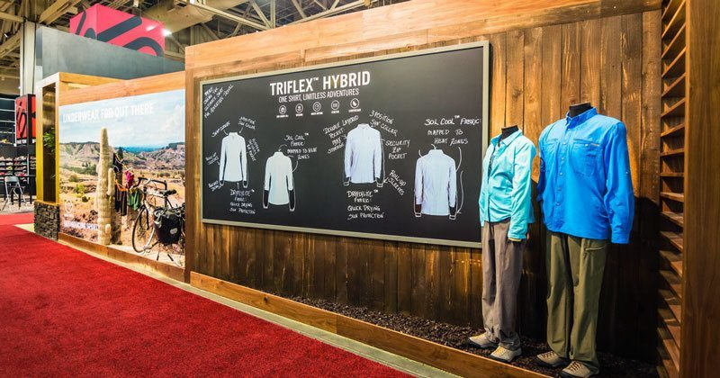 Trade Show Booth Ideas ExOfficio