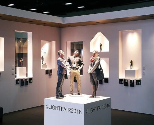 Lightheaded Lighting Trade Show Booth Ideas 3