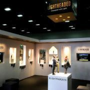 Lightheaded Lighting Trade Show Booth Ideas