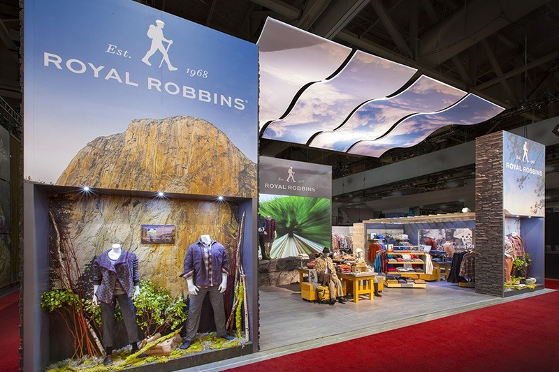 Modern Exhibition Booth Design : Trade show booth ideas royal robbins mackenzie exhibit