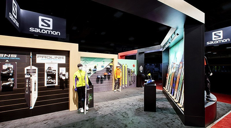 Salomon Trade Show Booth Ideas 2