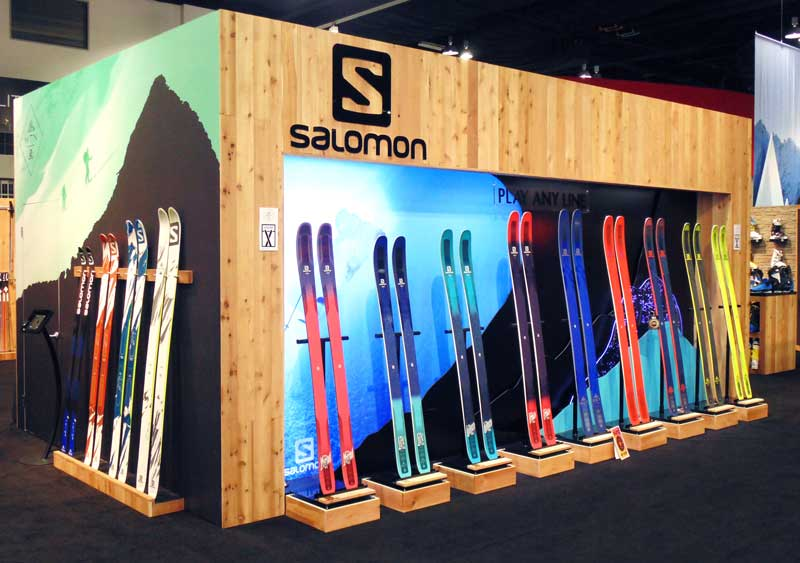 Trade Show Product Displays Salomon