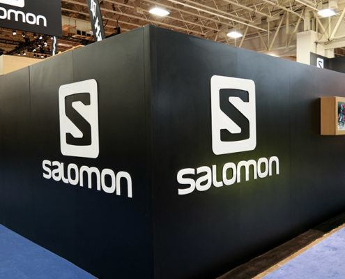 Salomon Trade Show Booth Ideas