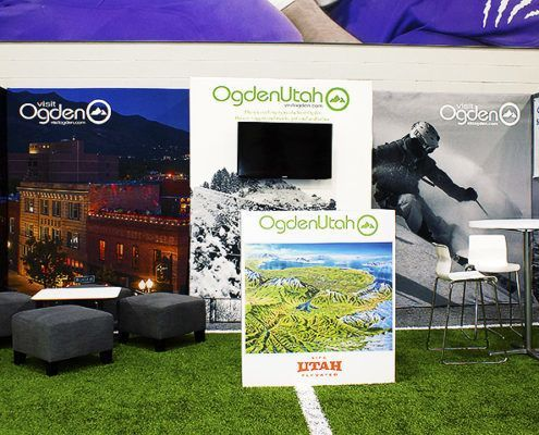 Visit Ogden Trade Show Booth Ideas