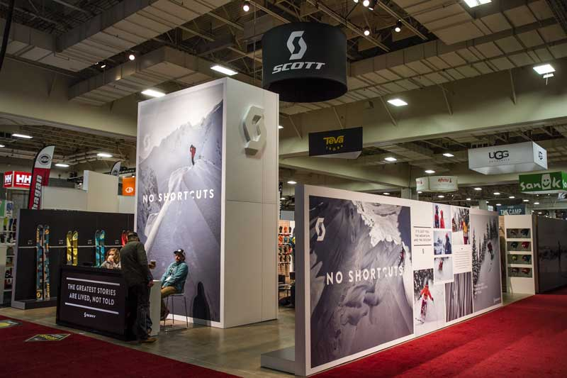 Outdoor Exhibition Booth Design : Trade show booth ideas scott sports mackenzie exhibit